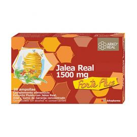 Arko Jalea Real Forte Plus 1500 Mg 20 ampollas