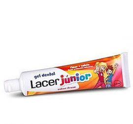 Lacer Junior Gel Dental Fresa 75 Ml
