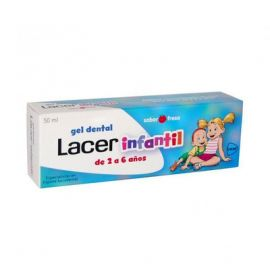 Lacer Gel Dental Infantil Sabor Fresa 75 Ml